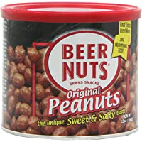 6-Pack BEER NUTS Original Peanuts, 12-Ounce Cans