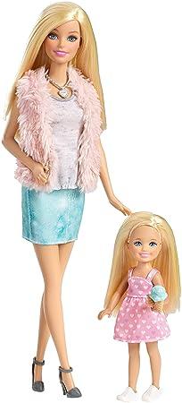 Mattel - BARBIE Coffret 2 soeurs Barbie et Chelsea