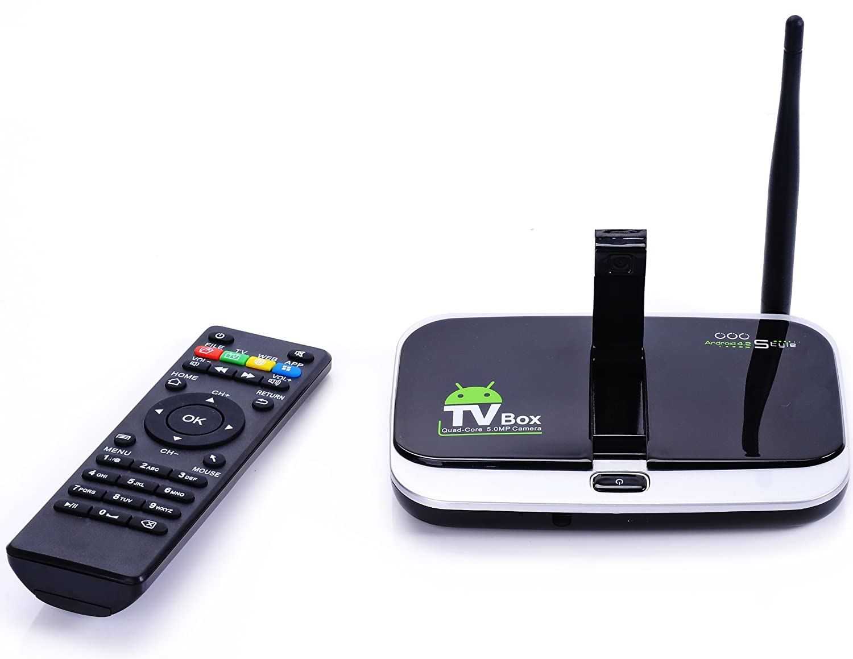 Android 9.0 TV Box, RK3328 Quad core 64 Bits 4GB RAM 32GB ROM WiFi Android Smart TV Box WiFi 2.4G/5G