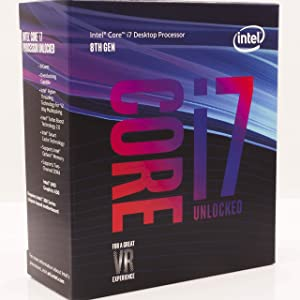 Intel Core i7-8700K Desktop Processor 6 Cores up to 4.7GHz Turbo Unlocked LGA1151 300 Series 95W & Corsair Vengeance LPX 16GB (2x8GB) DDR4 DRAM 3000MHz C15 Desktop Memory Kit - Black Bundle (Color: Core i7-8700K, Tamaño: Processor)