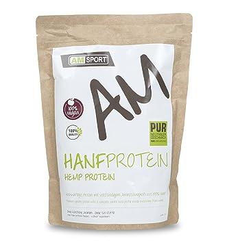AMSPORT - HANFPROTEIN - 100 % VEGANE HEMP PROTEIN - Neutal 500g