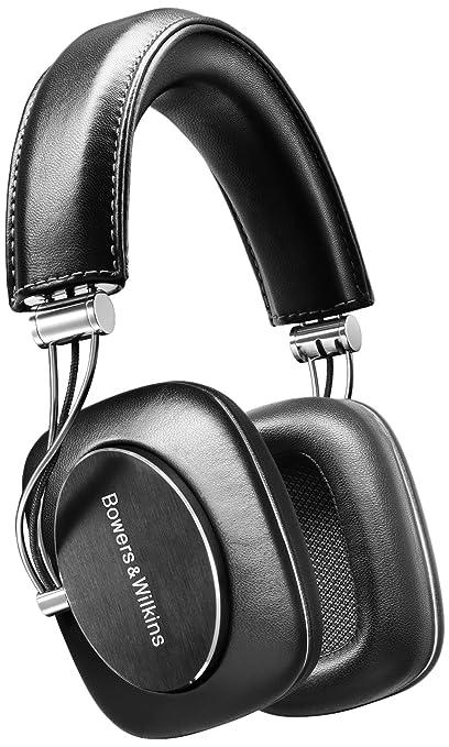 Bowers & Wilkins P7 Casque en cuir Hi-Fi pour iPhone Noir