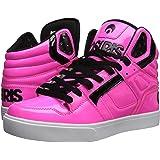 Osiris Men's Clone Skate Shoe, neon/Brights/Pink, 12 M US (Color: Neon/Brights/Pink, Tamaño: 12 M US)