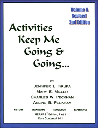 Activities Keep Me Going and Going, Volume A (Activities Keep Me Going & Going)