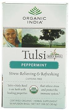 Отзывы Organic India Organic Tulasi Tea Peppermint
