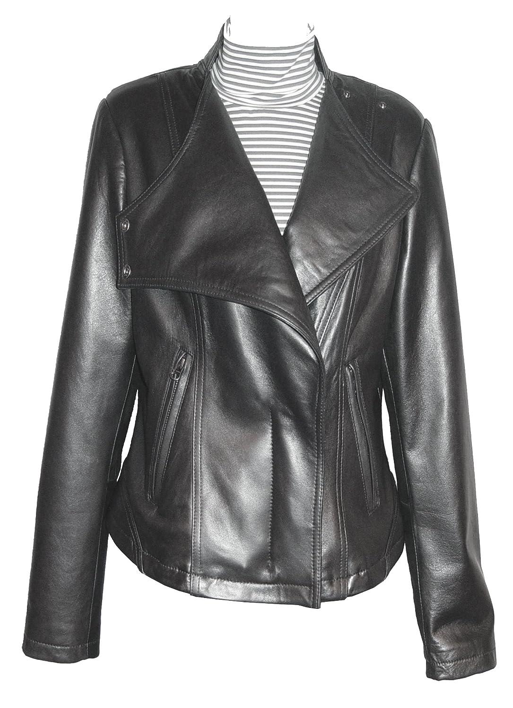 Paccilo GRATIS SchneidereiWoHerren 4093 Leder Moto Jacke?ffnen Boden stehen Up Kragen günstig kaufen
