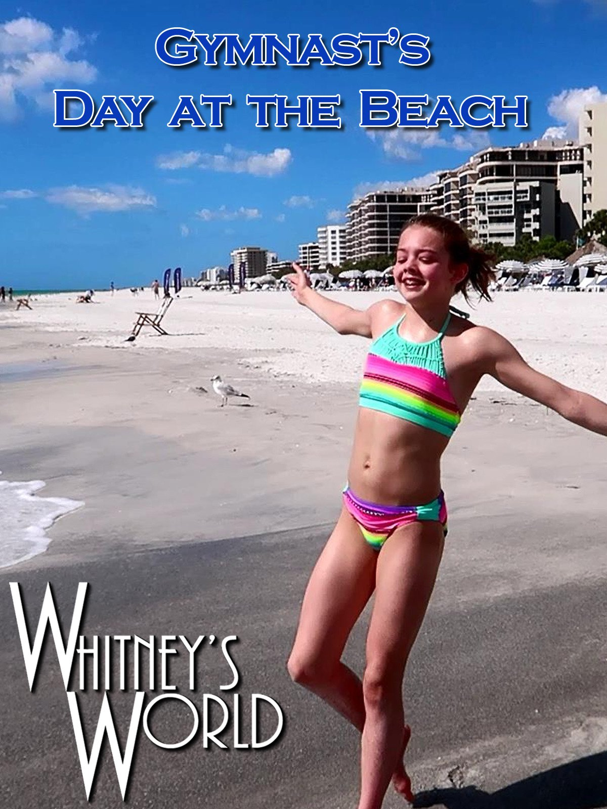 Gymnast's Day at the Beach on Amazon Prime Video UK