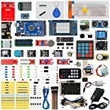 Seesii Ultimate Starter Kitsfor Arduino MEGA 2560 R3, Servo Motor,modules,sensors (Arduino MEGA 2560 kit) (Color: Arduino MEGA 2560 Ultimate Starter Kits)