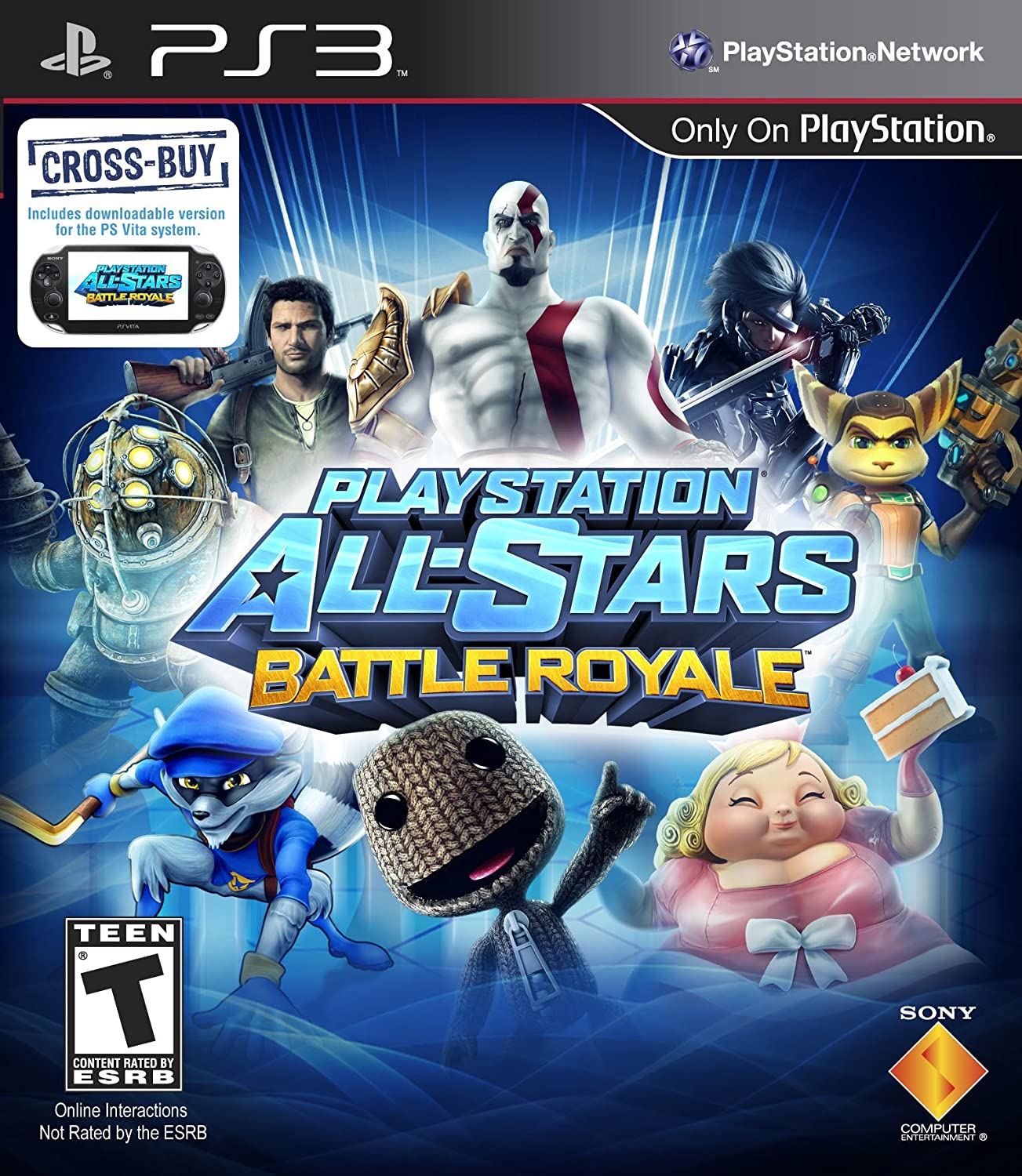 PlayStation All-Stars Battle Royale $29.99(PS3)