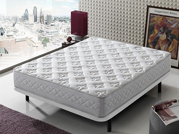 Living Sofa - MATERASSO MEMORY FOAM TOURMALINE PRO, dimensioni: 160 x 190