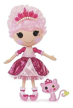 Lalaloopsy – Princess Jewel Sparkles – Poupée 33 cm + Animal de Compagnie