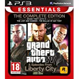 PS3 GRAND THEFT AUTO COMPLETE (IV + EPISODES FROM LIBERTY CITY) (EU)
