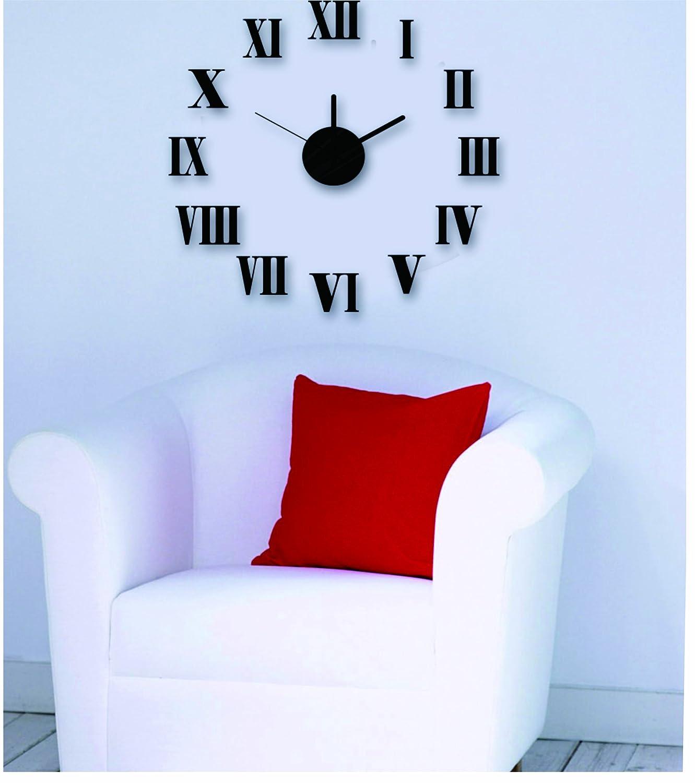 Design 1 Wanduhr 60 cm 3 D XL Uhr Moderne Selbst gestaltbare Do-it-yourself