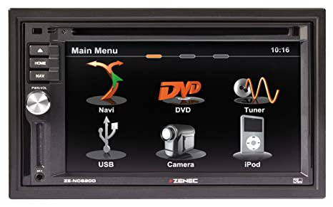 Zenec ZE-NC620D GPS Bluetooth Noir