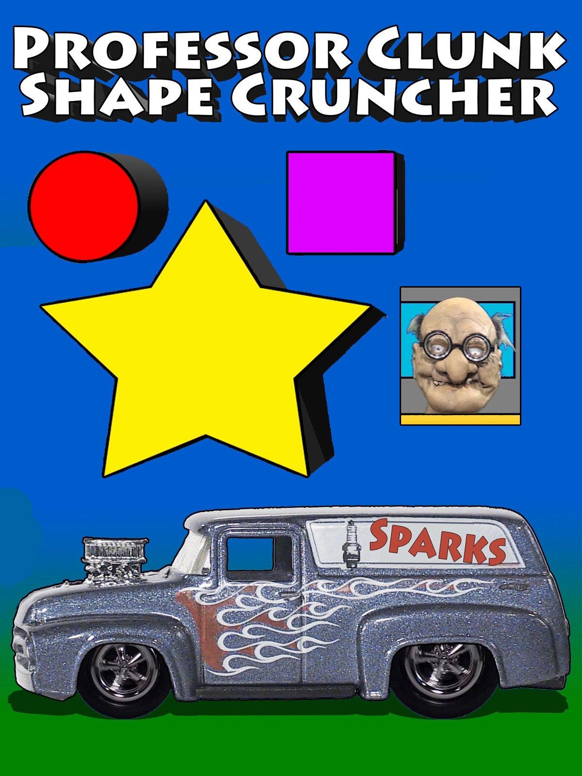 Professor Clunk Shape Cruncher