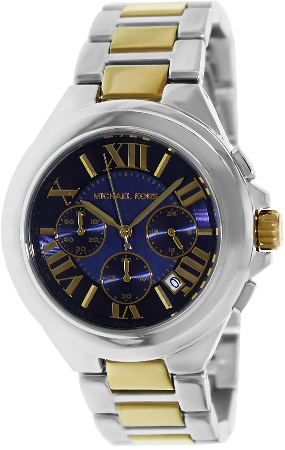 Michael Kors Camille Silver/Gold MK5758 Watch at Sears.com