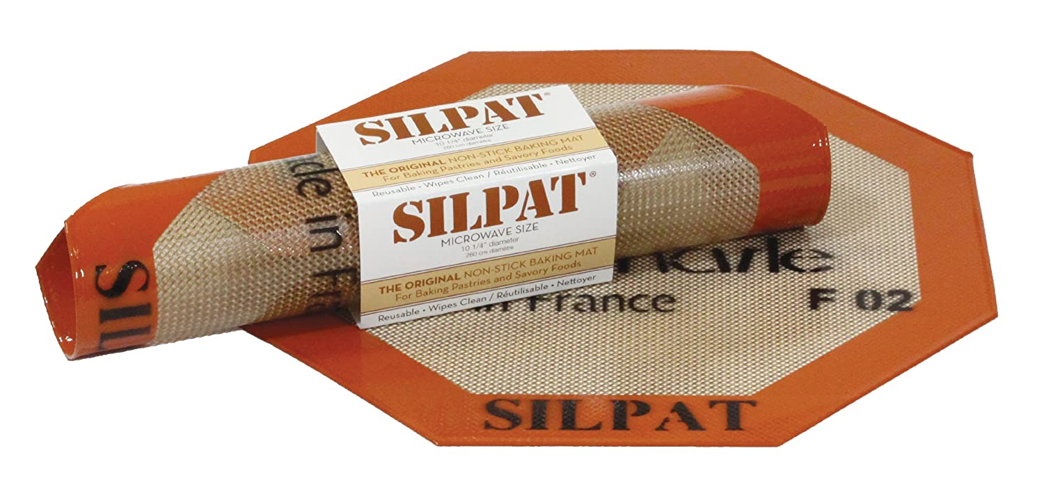 Silpat Non Stick Silicone Microwave Baking Mat 10 25 Inch