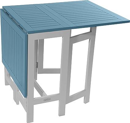Green City CGBUR41-Consola mesa de madera de Acacia, Sterling 135 x 65 x 74 cm