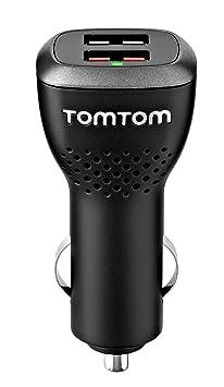 TomTom Caricatore USB Multiplo da Auto, Nero