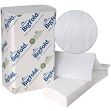 "Georgia-Pacific BigFold 33587 White EPA Compliant Premium C-Fold Replacement Paper Towel, 10.8"" Length x 10.2"" Width (Case of 10 Packs, 220 per Pack)"