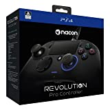 Nacon Sony PlayStation 4 Revolution Pro Controller (Color: Black, Tamaño: 1 Pack)