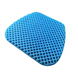 FOMI Premium All Gel Orthopedic Seat Cushion Pad for Car, Office Chair, Wheelchair, or Home. Pressure Sore Relief. Ultimate Gel Comfort, Prevents Sweaty Bottom, Durable, Portable (Tamaño: Standard - 1.25