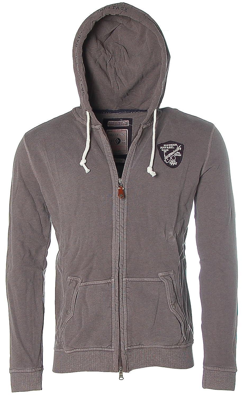 ARQUEONAUTAS Sweatjacke Sweat Jacke mit Kapuze -Superior Apparel- günstig bestellen