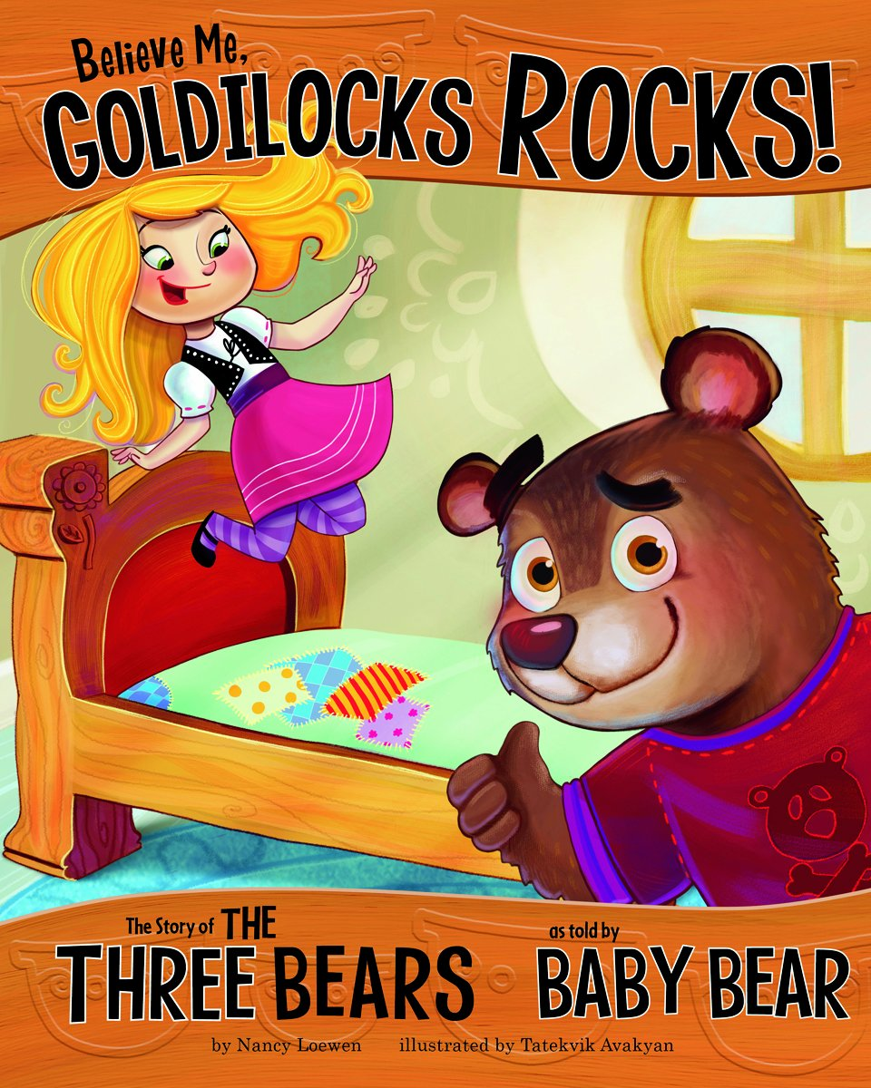 Uncategorized Baby Bear Story reviews believe me goldilocks rocks the story of three bears as told by baby bear other side reviews