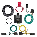 CURT 56331 Vehicle-Side Custom 4-Pin Trailer Wiring Harness for Select Chrysler Town and Country, Dodge Caravan, Grand Caravan (Color: Black)