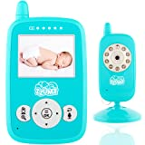 Baby Monitor - Baby Camera - Old Baby Monitor - Wireless Video Baby Monitor Camera with Lights Color - Display Infant Baby Monitor with Night Vision -