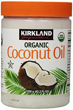 Kirkland Signature Organic Virgin Coconut Oil Cold Pressed Unrefined 42.3 Fl oz