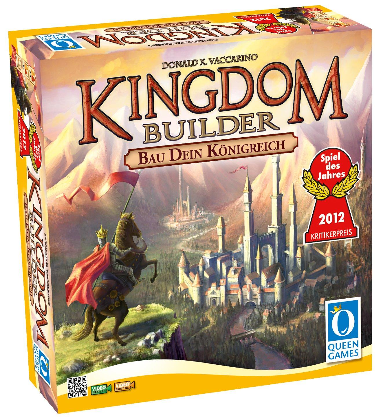 Queen Games 6083 - Kingdom Builder, Spiel