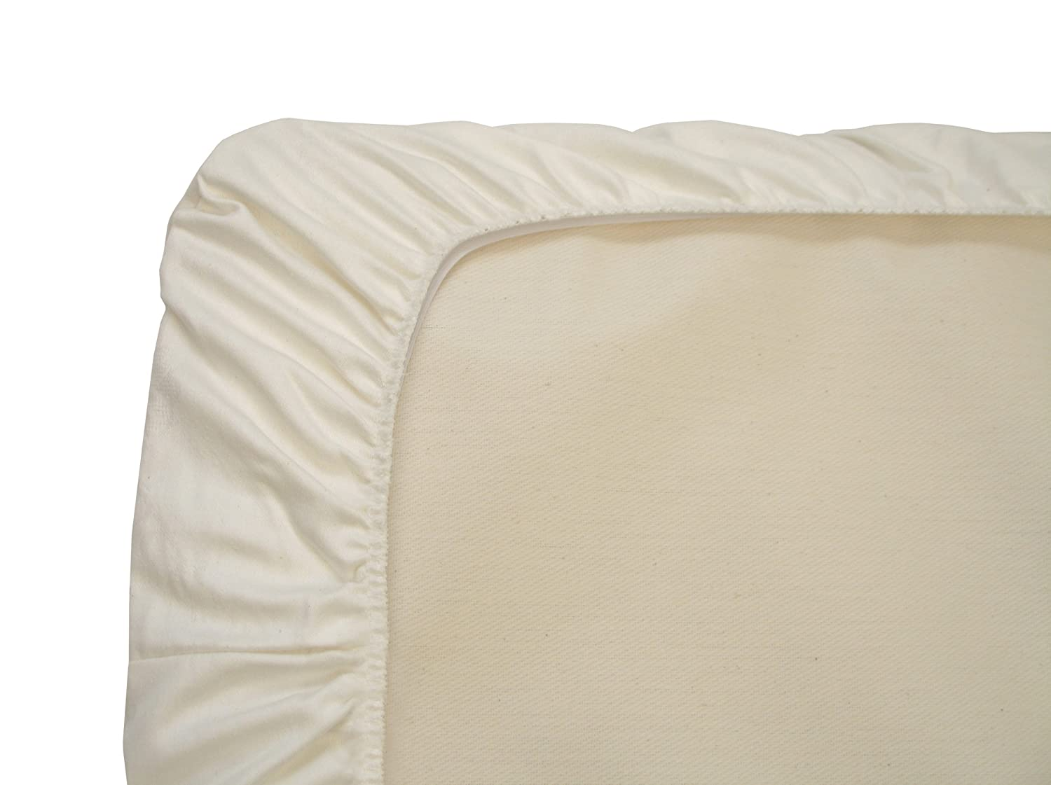 Naturepedic Organic Cotton Portable Crib Fitted Sheet