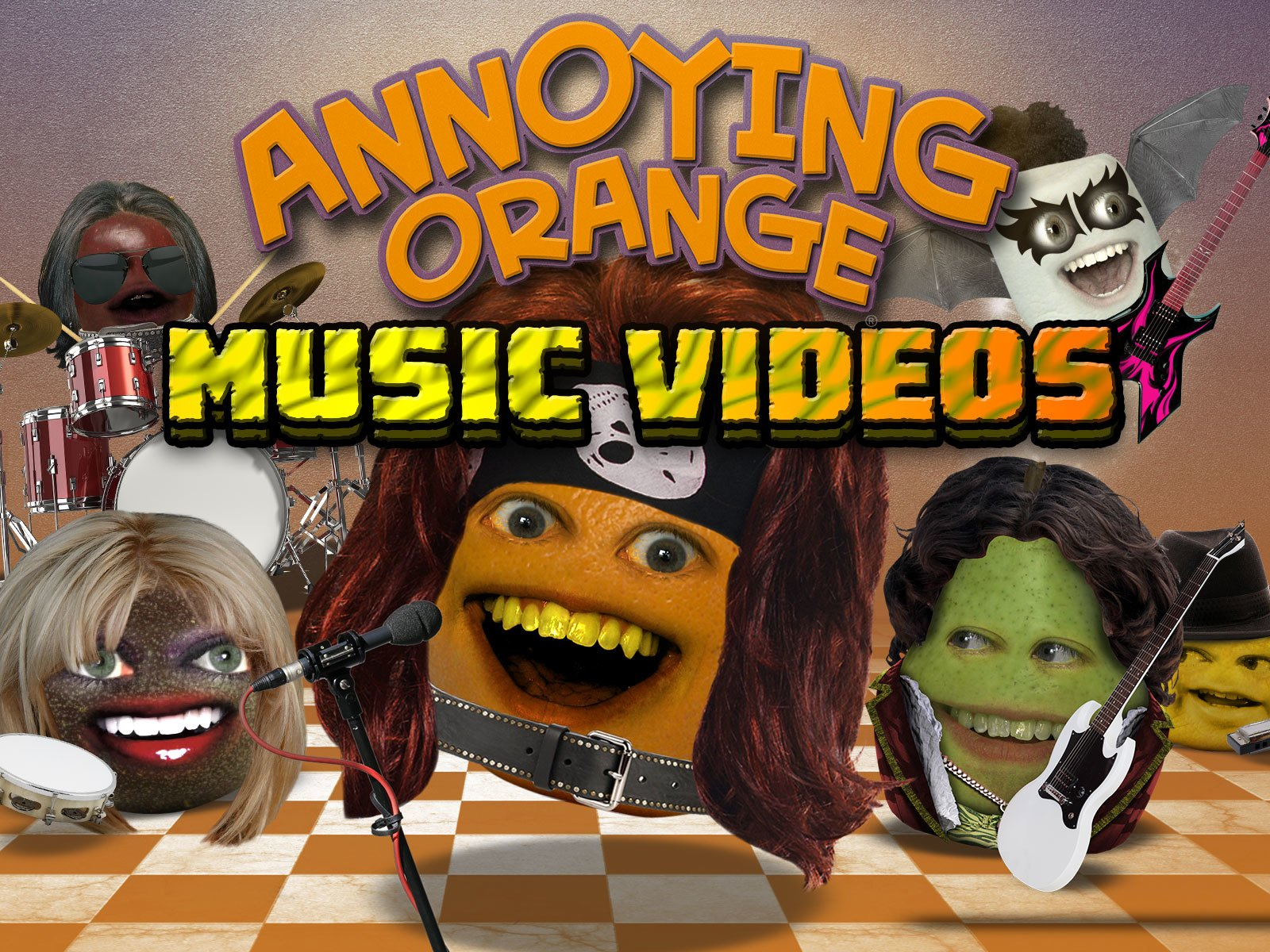 Annoying Orange Music Videos