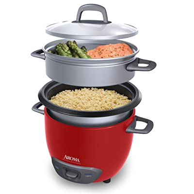 Aroma Housewares Pot Style Rice Cooker and Food Steamer Via Amazon