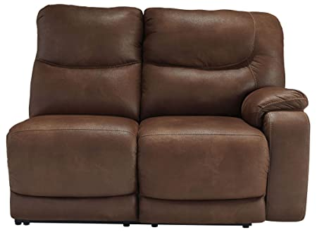 Longview Brown RAF Reclining Loveseat
