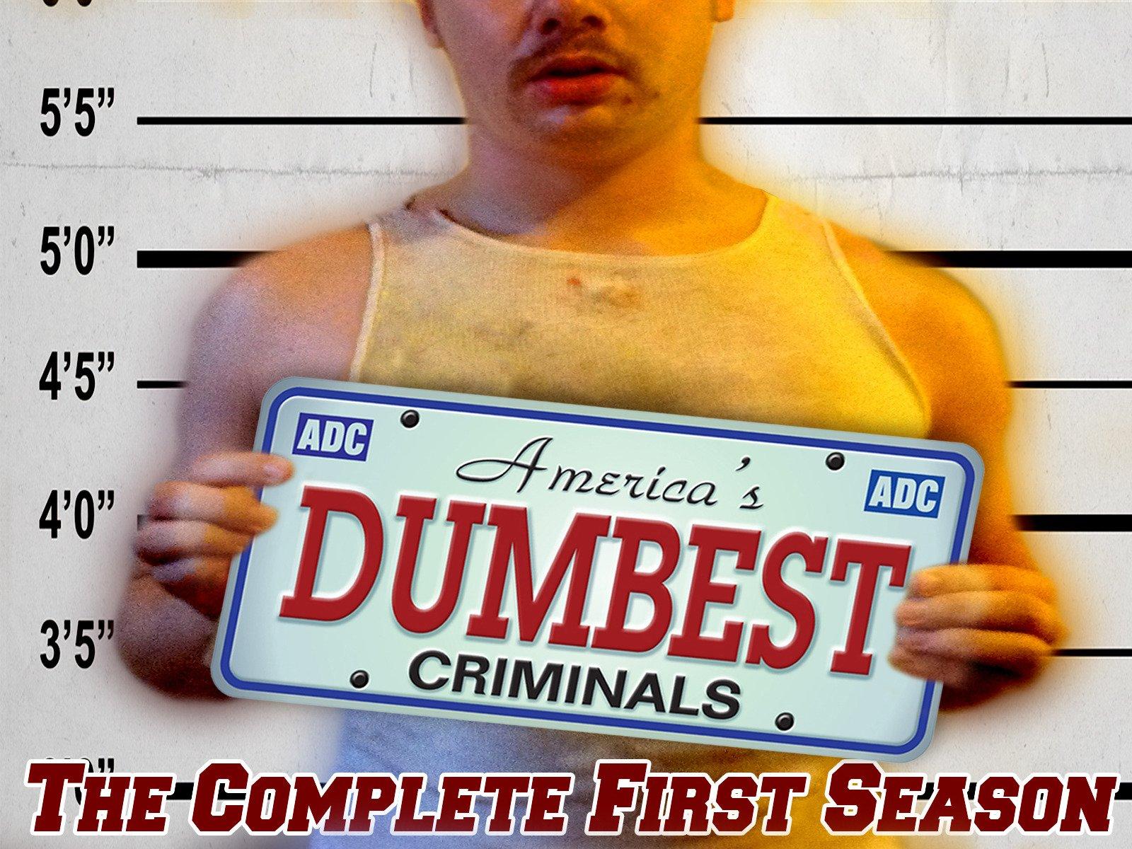 America's Dumbest Criminals on Amazon Prime Video UK