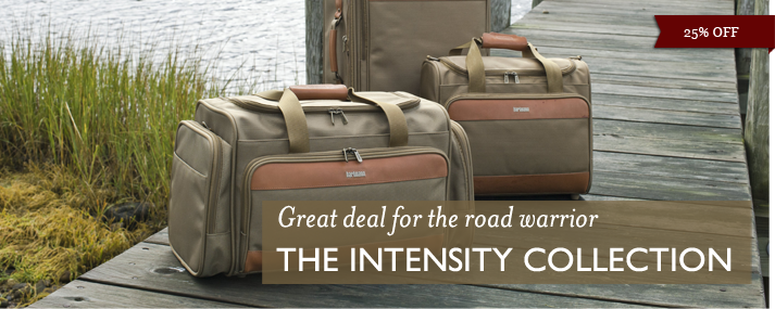 Great deal for the road warrior - 25% Off The Intensity Collection