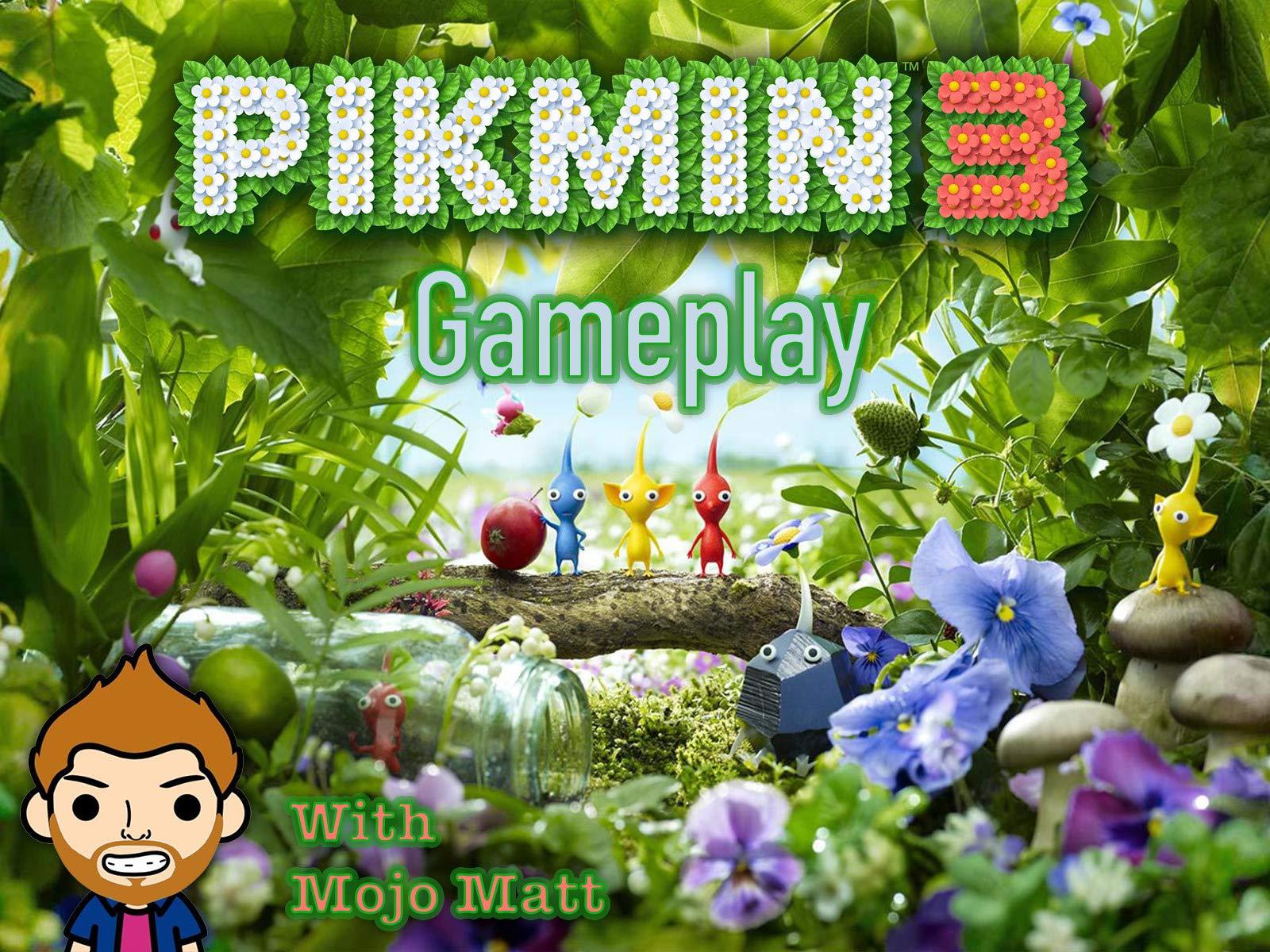 Pikmin 3 Gameplay With Mojo Matt on Amazon Prime Instant Video UK