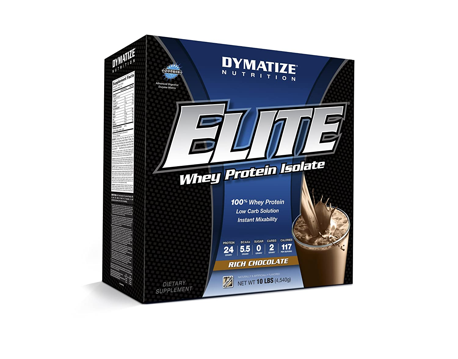 Dymatize Nutrition Elite Whey - 10 lb Rich Chocolate