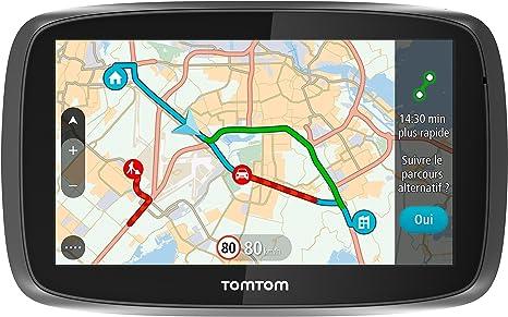 TomTom GO 610 (6 Pouces) Cartographie Monde, Trafic et Zones de Danger à Vie (1FA6.002.52)