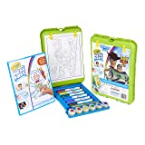 Crayola Color Wonder Travel Easel Toy Story 4 Pages with Bonus Pages, Markers and Color Wonder Paint Coloring Travel Books and Easel 61 Piece MEGA Set (Color: Toy Story 4, Tamaño: Mega Pack)