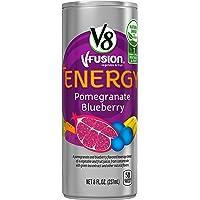 24-Pack V8 +Energy Pomegranate Blueberry, 8 Ounce
