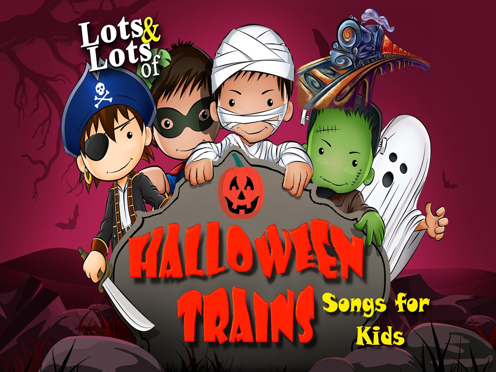 Lots & Lots of Halloween Trains