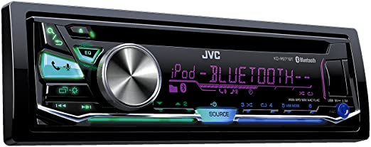 JVC KD-R971BTE Autoradios Bluetooth, En Façade