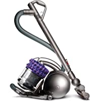Dyson Cinetic Animal Bagless Canister Vacuum (Iron/Purple) + 3 Free Tools