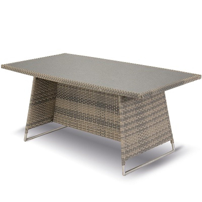 hartman montego tisch 200 x 110 cm polyrattan spraystone. Black Bedroom Furniture Sets. Home Design Ideas