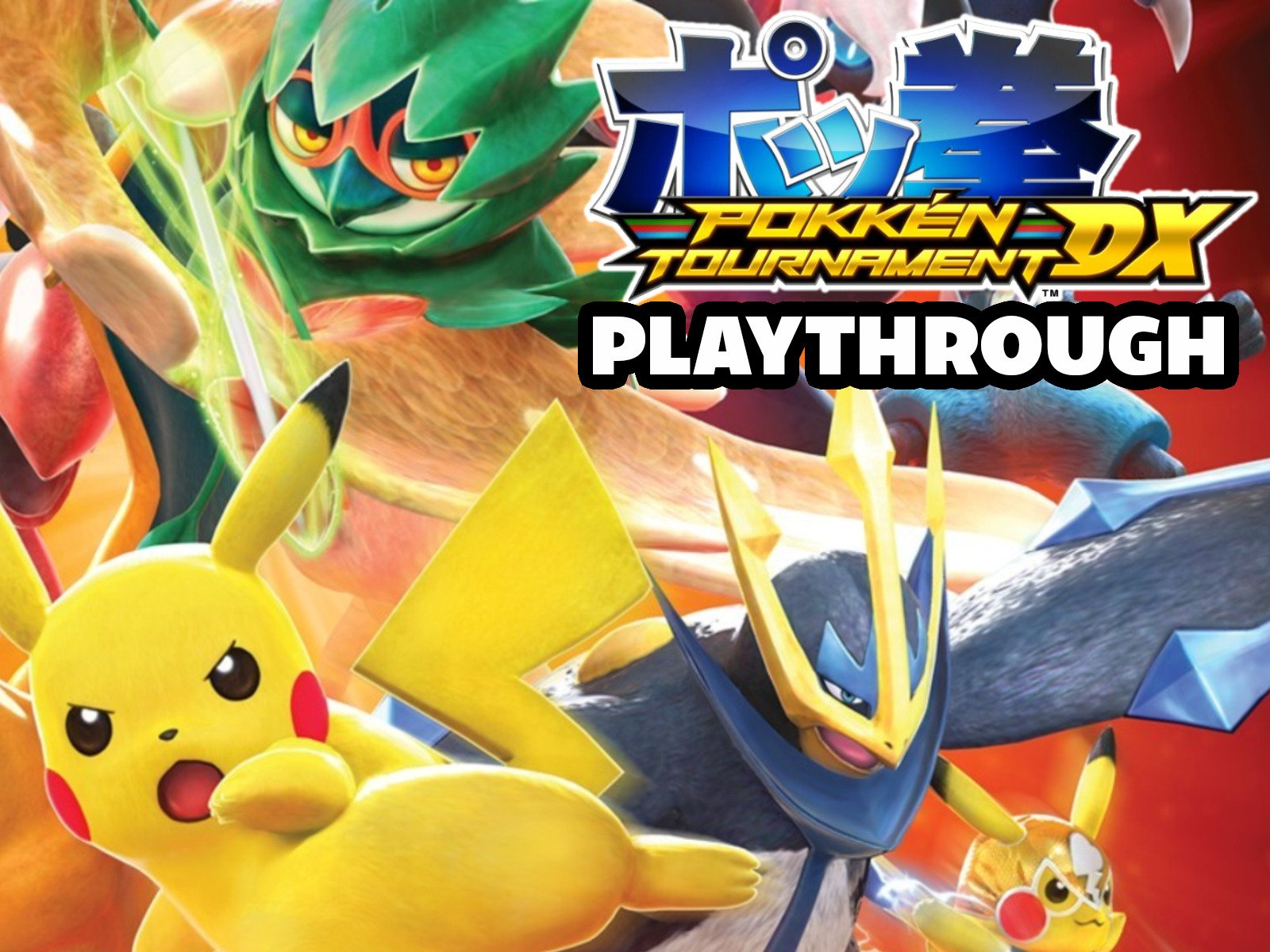 Clip: Pokken Tournament Playthrough - Season 1