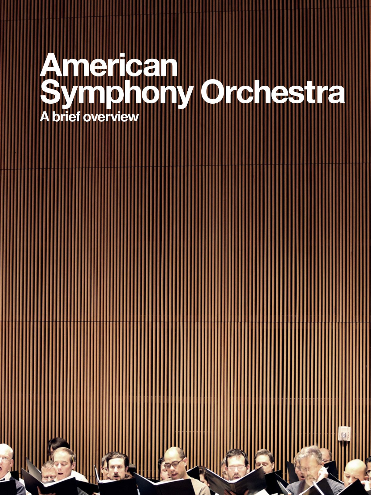 American Symphony Orchestra: A Brief Overview on Amazon Prime Instant Video UK
