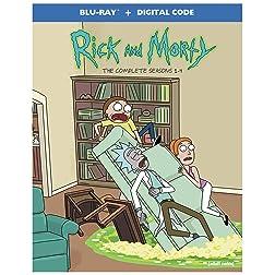 Rick and Morty: Seasons 1-4 [Blu-ray]
